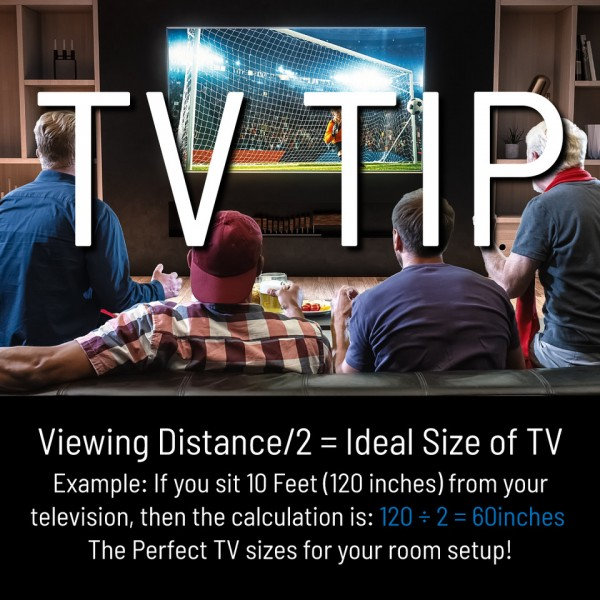 What TV size is right for your wall?