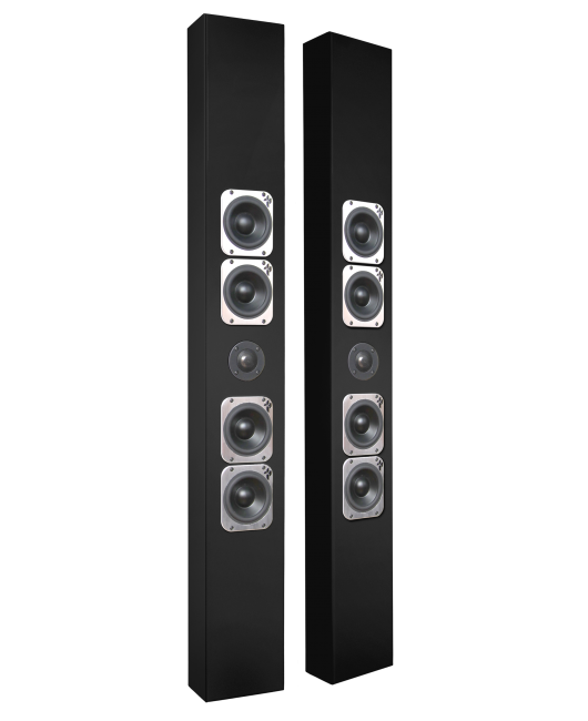 Totem On Wall Speakers - Tribe V