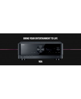 Yamaha - RXV 6A A/V Surround sound receiver